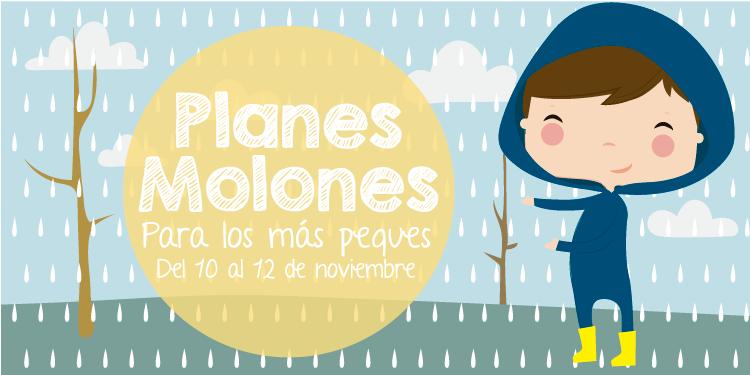 ¡Planes molones para los más peques del 10 al 12 de noviembre 2017!