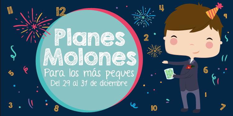 ¡Planes molones para los más peques del 29 al 31 de diciembre 2017!