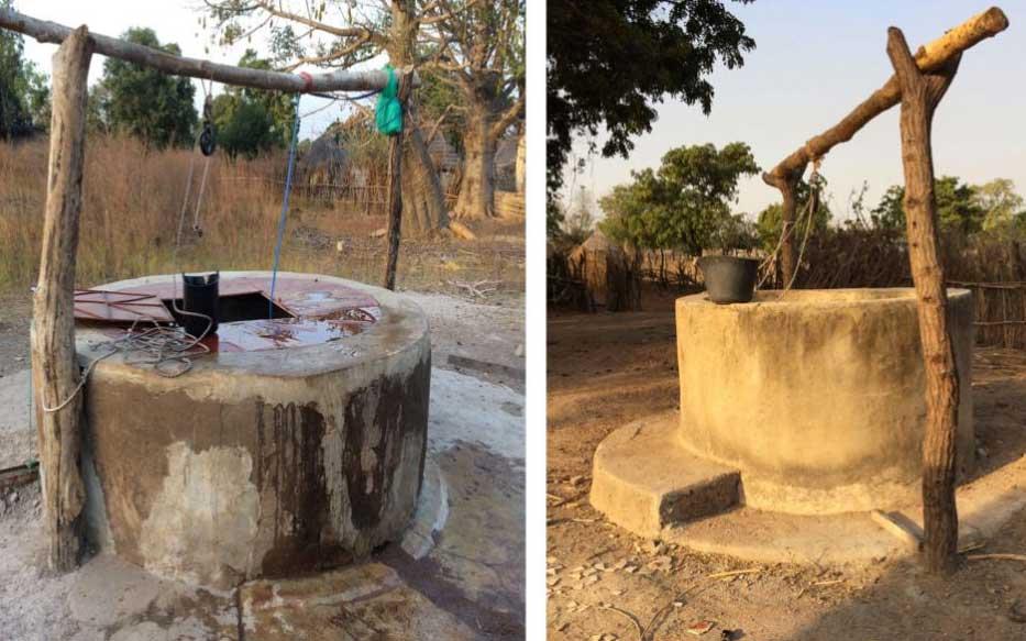 Construccion pozos Bassari Senegal