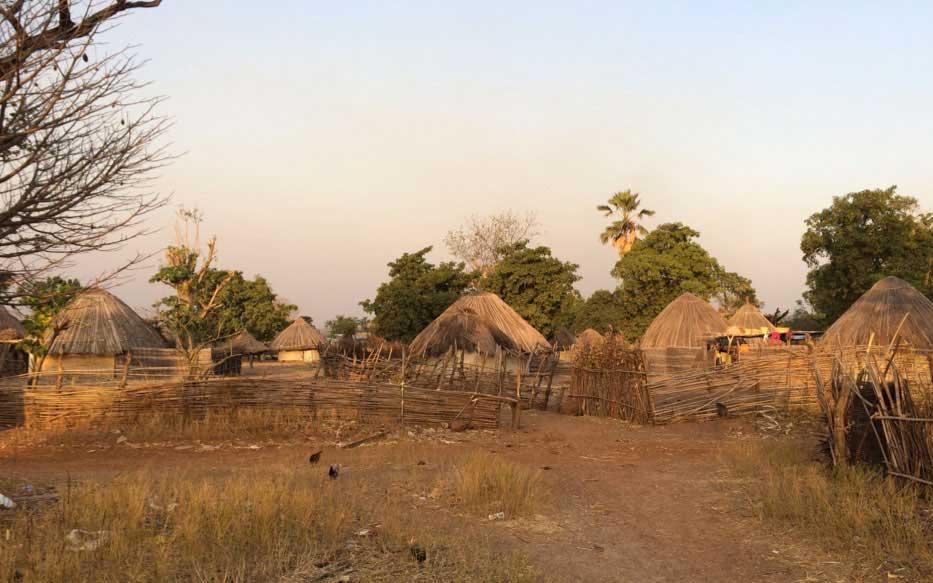 Ayuda pais Bassari Senegal
